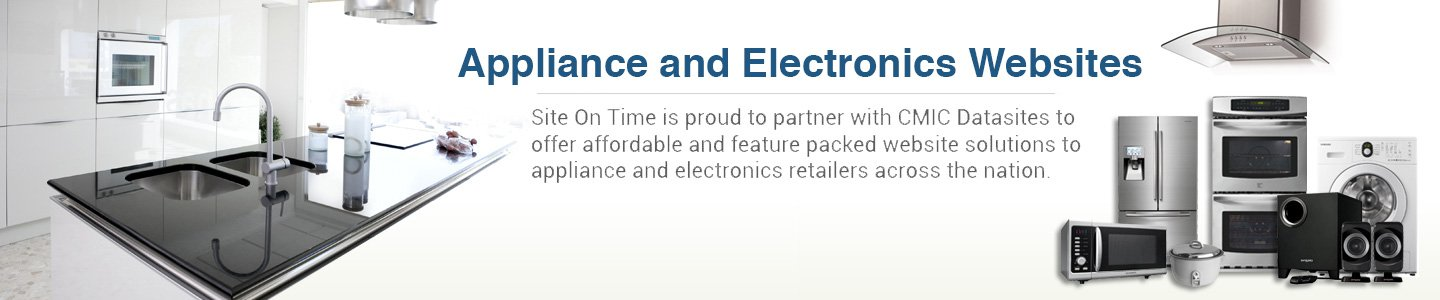 Appliance Electronics and Furniture product catalog websites